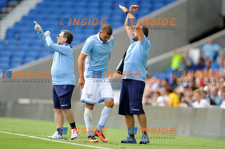 Filip Djordjevic infortunio Injured<br /> 31-07-2016 Brighton, <br /> Amichevole Brighton Vs Lazio<br /> SS Lazio friendly match <br /> @ Marco Rosi / Fotonotizia / Insidefoto