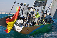 ESP97 - DESAFÍO ESPAÑOL ESP97 TRAINING AGAIN for the II Trofeo Desafío Español - Club Náutico Español de Vela, next 7,8 and 9 Novenber 2008. Team Origin is trainig with ESP88 and soon begins Alinghi SUI100 and Luna Rossa -
