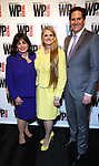 Charlotte St. Martin, Bonnie Comley and Nick Scandalios attends the WP Theater's 40th Anniversary Gala -  Women of Achievement Awards at the Edison Hotel on April 15, 2019  in New York City.
