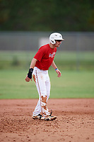 Max Marusak (18) while playing for Rawlings National Scout Team based out of Merrick, New York during the WWBA World Championship at the Roger Dean Complex on October 21, 2017 in Jupiter, Florida.  Max Marusak is a shortstop / second baseman from Amarillo, Texas who attends Amarillo High School.  (Mike Janes/Four Seam Images)