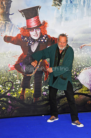 LONDON, ENGLAND - MAY 10: Terry Gilliam attending the 'Alice Through The Looking Glass' European Premiere at Odeon Cinema, Leicester Square in London. on May 10, 2016 in London, England.<br /> CAP/MAR<br /> &copy; Martin Harris/Capital Pictures /MediaPunch ***NORTH AND SOUTH AMERICA ONLY***