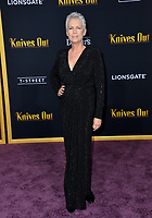 "LOS ANGELES, USA. November 15, 2019: Jamie Lee Curtis at the premiere of ""Knives Out"" at the Regency Village Theatre.<br /> Picture: Paul Smith/Featureflash"