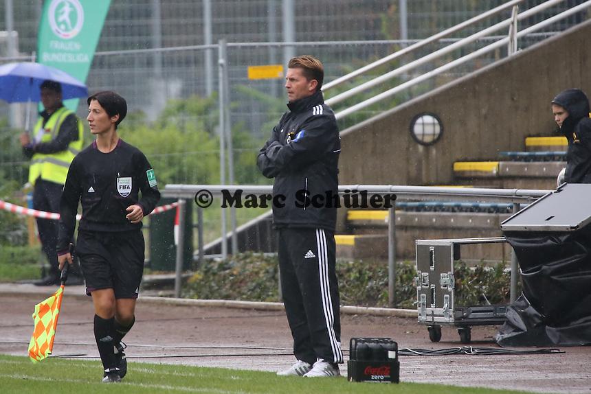 Trainer Colin Bell (FFC)  - 1. FFC Frankfurt vs. Bayer 04 Leverkusen