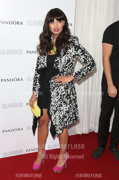 Jameela Jamil arriving for the 013 Glamour Women of The Year Awards, Berkeley Square, London. Picture by: Henry Harris / Featureflash