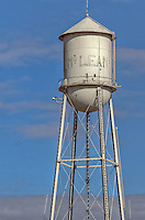 The all water tower in McLean Texas along Route 66.