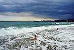 Paesaggi del mondo. Il mare di Varigotti in Liguria.
