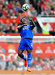 Daniel Amartey of Leicester City in action during the Premier League match at Old Trafford Stadium, Manchester. Picture date: September 24th, 2016. Pic Sportimage