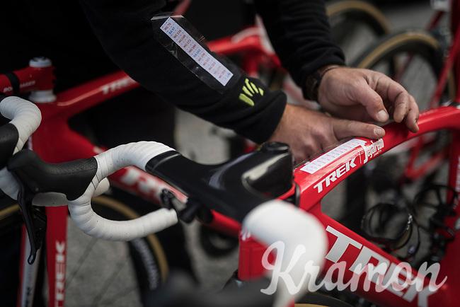 getting the bikes race-ready<br /> <br /> 103rd Li&egrave;ge-Bastogne-Li&egrave;ge 2017 (1.UWT)<br /> One Day Race: Li&egrave;ge &rsaquo; Ans (258km)