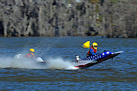 Frame 3: 1-US goes for a wild ride.   (outboard hydroplane)