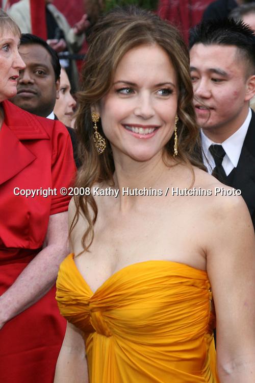 Kelly Preston.80th Academy Awards ( Oscars).Kodak Theater.Los Angeles, CA.February 24, 2008.©2008 Kathy Hutchins / Hutchins Photo.