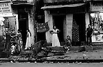 At the onset of dusk, 14th Lane comes alive. Jubilee Action estimates 3,000 women work on 14th lane alone, one street of many in Bombay's red light district area.<br />