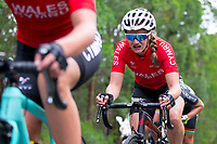 Picture by Alex Whitehead/SWpix.com - 14/04/2018 - Commonwealth Games - Cycling Road - Currumbin Beachfront, Gold Coast, Australia - Jess Roberts of Wales in action during the Women's Road Race.