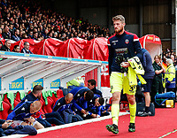 Bolton Wanderers' Jake Turner pictured before the match <br /> <br /> Photographer Andrew Kearns/CameraSport<br /> <br /> The EFL Sky Bet Championship - Nottingham Forest v Bolton Wanderers - Sunday 5th May 2019 - The City Ground - Nottingham<br /> <br /> World Copyright © 2019 CameraSport. All rights reserved. 43 Linden Ave. Countesthorpe. Leicester. England. LE8 5PG - Tel: +44 (0) 116 277 4147 - admin@camerasport.com - www.camerasport.com