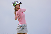 Sandra Gal (DEU) watches her tee shot on 2 during Saturday's third round of the 72nd U.S. Women's Open Championship, at Trump National Golf Club, Bedminster, New Jersey. 7/15/2017.<br /> Picture: Golffile | Ken Murray<br /> <br /> <br /> All photo usage must carry mandatory copyright credit (&copy; Golffile | Ken Murray)