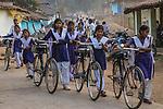 School Girls, Madhya Pradesh, India