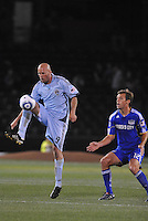 Conor Casey #9, Jimmy Conrad,..Kansas City Wizards defeated Colorado Rapids 1-0 at Community America Ballpark, Kansas City, Kansas.