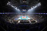 24.02.2019, SAP Arena, Mannheim<br /> Volleyball, DVV-Pokal Finale, SSC Palmberg Schwerin vs. Allianz MTV Stuttgart<br /> <br /> †bersicht / Uebersicht SAP Arena Mannheim<br /> <br />   Foto © nordphoto / Kurth