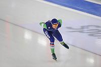 SCHAATSEN: BERLIJN: Sportforum Berlin, 06-12-2014, ISU World Cup, 5000m Man Division B, Frank  Vreugdenhil (NED), ©foto Martin de Jong