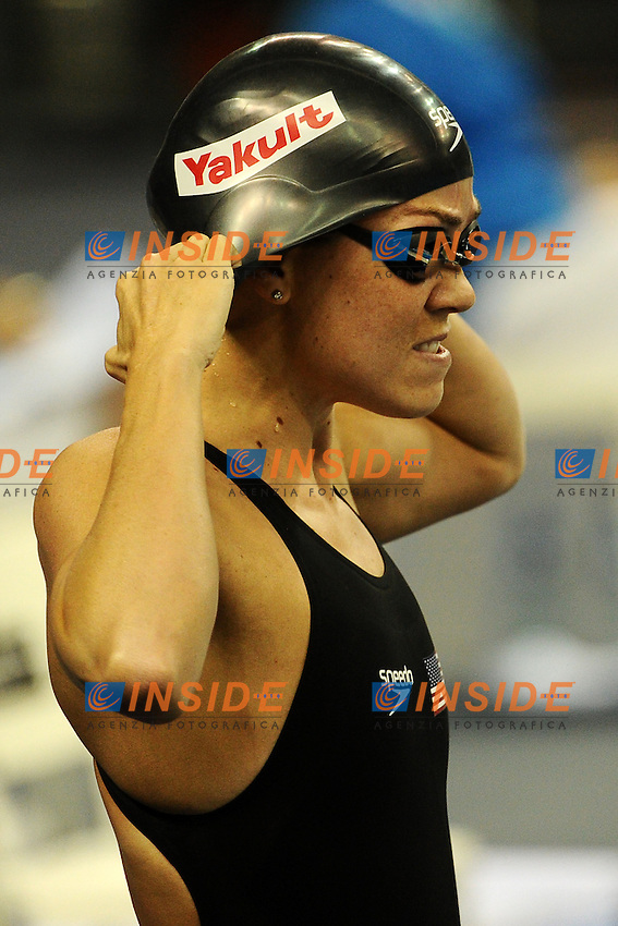 Nathalie COUGHLIN USA.Women's 100m Freestyle - Swimming / Nuoto.Shanghai 29/7/2011 .14th FINA World Championships.Foto Andrea Staccioli Insidefoto