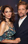 Annie Parisse and Paul Sparks during the arrivals for the 2018 Drama Desk Awards at Town Hall on June 3, 2018 in New York City.