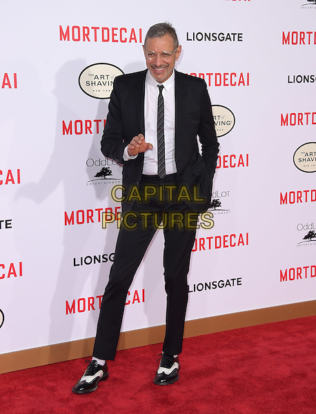 Jeff Goldblum attends The Mortdecai Los Angeles Premiere held at The TCL Chinese Theater  in Hollywood, California on January 21,2015                                                                               <br /> CAP/DVS<br /> &copy;DVS/Capital Pictures