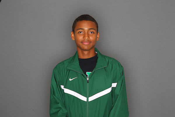 Denton, TX - August 28: University of North Cross Country team head shots of Silvester Harrison at Pohl Recreation Center, in Denton on August 29, 2012 in Denton, Texas. (Photo by Rick Yeatts)