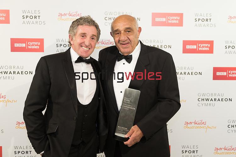 Wales Sport Awards 2016<br /> Hoddinott Hall - Millennium Centre<br /> 05.12.16<br /> Pradip Kotecha - ©Sportingwales