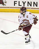 Tracy Johnson (BC - 5) - The St. Lawrence University Saints defeated the Boston College Eagles 4-0 on Friday, January 15, 2009, at Conte Forum in Chestnut Hill, Massachusetts.
