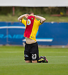 Partick Thistle's Ziggy Gordon distraught at full-time