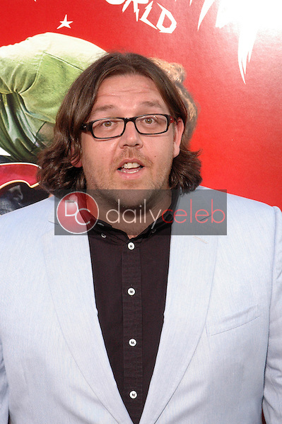 """Nick Frost<br /> at the """"Scott Pilgrim VS. The World"""" Premiere, Chinese Theater, Hollywood, CA. 07-27-10<br /> David Edwards/DailyCeleb.com 818-249-4998"""
