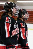 Kristi Kehoe (NU - 34) - The Harvard University Crimson defeated the Northeastern University Huskies 1-0 to win the 2010 Beanpot on Tuesday, February 9, 2010, at the Bright Hockey Center in Cambridge, Massachusetts.