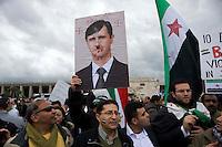 Manifestazione contro Bashar al-Assad