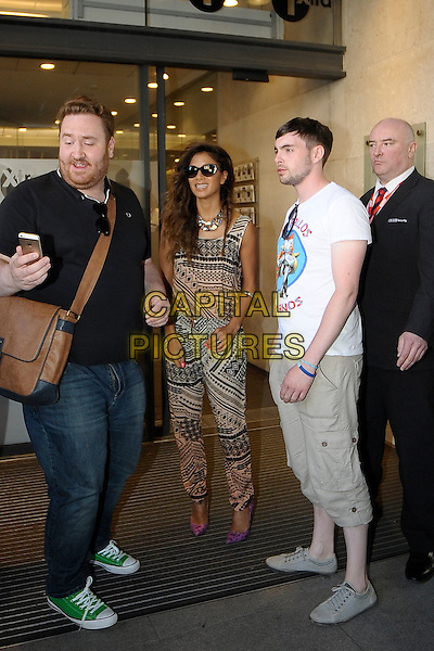 LONDON, ENGLAND -  14 JULY; Nicole Scherzinger arriving at BBC Radio 1 London, England, 14th July 2014<br /> CAP/IA<br /> &copy;Ian Allis/Capital Pictures