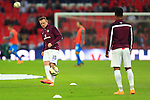 Wayne Rooney of England during warm up - England vs. Slovenia - UEFA Euro 2016 Qualifying - Wembley Stadium - London - 15/11/2014 Pic Philip Oldham/Sportimage