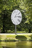 """dOCUMENTA (13) in Kassel, Germany..Karlsaue..Anri Sala. """"Clocked Perspective"""", 2012."""