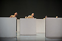 Woking, UK. 12.04.2016. Dance Consortium presents Nederlands Dans Theater 2, at The New Victoria Theatre, Woking, prior to commencing a national tour. this piece is : Cacti. The dancers are: Alexander Cyr Bezuijen, Alice Godrey, Aya Misaki, Benjamin Behrends, Fay Van Bar, Grace Lyell, Graham Kaplan, Gregory Lau, Guido Dutilh, Helias Tur-Dorvault, Katarina van den Wouwer, Madoka Kariya, Miguel Duarte, Paxton Ricketts, Rachel McNamee, Xanthe van Opstal. Photograph © Jane Hobson.