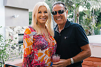 Joan Appleton and Scott Feldman attend Animal Ashram L.A. Cocktails and Conversation in Los Angeles, California on August 13, 2018 (Photo by Jason Sean Weiss / Guest of a Guest)