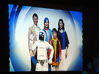 The Asimo which is designed to live with the family is able to fetch, clean and collect things. According to Asimo's lead developer Masato Hirose the friendly home humanoid is no longer a distant dream.