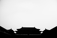 Daytime landscape view of the Meridian Gate of the Zijin Cheng in Dongcheng, Beijing  © LAN