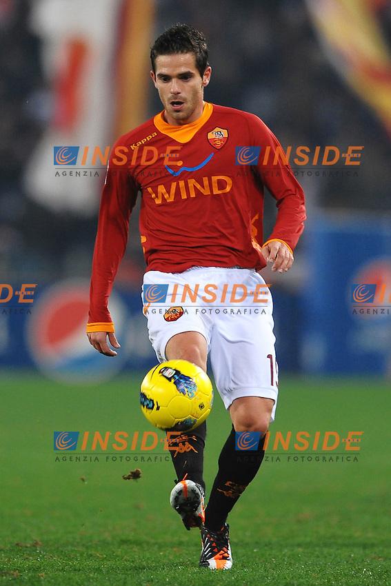 Fernando GAGO Roma.Roma 20/11/2011 Stadio Olimpico.Football Calcio Serie A 2011/2012.Roma Vs Lecce.Foto Insidefoto Andrea Staccioli