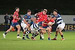 NELSON, NEW ZEALAND - SEPTEMBER 27: Mitre 10 Cup - Tasman Mako v Auckland. Trafalgar Park, Nelson, New Zealand. Friday 27 September 2019. (Photos by Barry Whitnall/Shuttersport Limited)