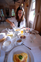 Breakfast at the Panamonte Inn and Spa, Boquete