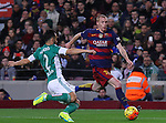 30.12.2015 Barcelona. La Liga , day 17. Picture show Vermaelen in action during game between FC Barcelona against Betis at Camp Nou