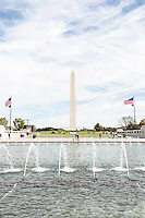 A view of The Washington Monument, seen from the National World War II Memorial, Washington, D.C. Images are available for editorial licensing, either directly or through Gallery Stock. Some images are available for commercial licensing. Please contact lisa@lisacorsonphotography.com for more information.