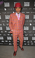 Danny John-Jules at the Broadcast Awards 2018, Grosvenor House Hotel, Park Lane, London, England, UK, on Wednesday 07 February 2018.<br /> CAP/CAN<br /> &copy;CAN/Capital Pictures
