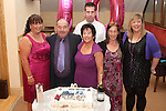 Rosemary and Tommy Seery with their daughters Jennifer and Pamela, son Niall and daughter in law Belinda at their 40th Wedding Anniversary in The Thatch...Picture Jenny Matthews/Newsfile.ie