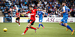 Andy Halliday scores the first goal for Rangers
