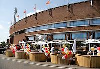 The Oysterclub in het Olympisch Stadion in Amsterdam. Horeca