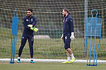 Wes Foderingham and Jak Alnwick