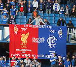 Ibrox and Hillsborough disaster banner
